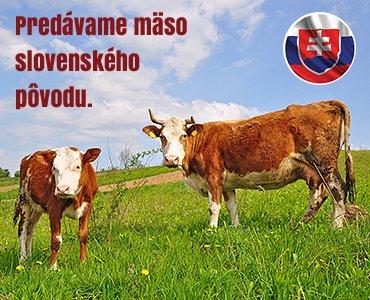 Predávame mäso slovenského pôvodu